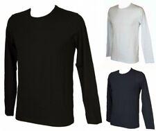 Camiseta de algodón de manga larga y cuello redondo para hombre RAGNO FORNITURE
