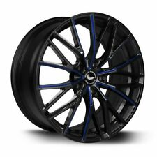 BARRACUDA PROJECT 3.0 Black gloss Flashblue Felge 10x20 - 20 Zoll 5x112 ...