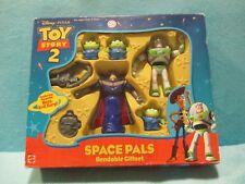 BNIB Mattel Disney Pixar Toy Story 2 - SPACE PALS - Bendable Figures Giftset NIB