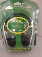 Garrett Treasure Sound Stereo Headphones For Metal Detectors New