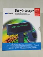 VeriFone Ruby Manager ( lot for 3) boxes V. 1.43 ,1.53  and Manual NEW.