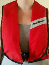 Challenger Worksafe 275N Red Automatic Lifejacket Commercial Grade - UK Made