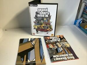 GRAND THEFT AUTO III - GTA 3 PC GAME - ORIGINAL & COMPLETE WITH MANUAL & MAP