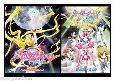 DVD Sailor Moon Crystal (Season 1+2+3)Episode 1-39end Sailormoon Anime 2 Box set