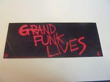 GRAND FUNK Lives 1981 Warner Brothers Promo Sticker Railroad