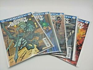 NM/M Lot of 5 DC Universe Rebirth Green Arrow #1 2 3 4 5 ALL VARIANT Covers CB1