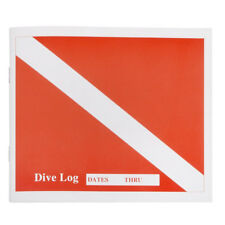 Trident Dive Log Book for Charting Your Dives Diving Log Book Scuba Log Book