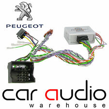 Peugeot 5008 2009-2013 Stereo Steering Wheel & Reverse Sensor Interface CTSPG013
