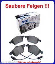 +JURID Keramik Beläge vorne Audi A4,A6 VW Passat Seat Skoda für 288 312 Scheiben