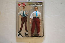 SUPERMAN MEGO RETRO  PERRY WHITE 8 INCH ACTION FIGURE  FIGURES TOY CO