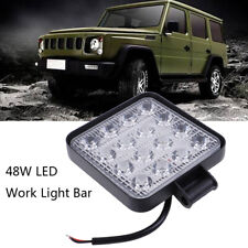 4 Inch 48W LED Work Light Truck OffRoad Tractor Spot Lights 12V 24V Square ZB