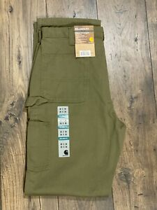 Carhartt Washed Twill Dungaree Relaxed Fit Pants NWT