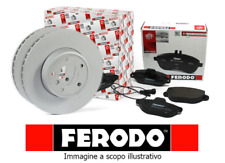 KIT DISCHI + PASTIGLIE FRENO FERODO FIAT PANDA 141 DAL 1986 AL 2003 4X2 E 4X4