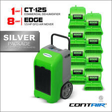 Contair® Wholesale Restoration Silver Pack of Dehumidifier and Air Mover Green