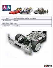 Mini 4wd PRO REAR DOUBLE ROLLER STAY Tamiya 15362 New Nuovo