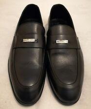 CALVIN KLEIN COLLECTION para Hombre Sin Cordones Mocasín Zapatos Negro Talla UK 8 EU 42