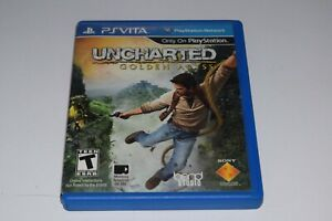 Uncharted the golden Abyss  ps vita ESRB version
