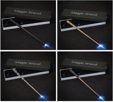 LED Harry Potter Magic Wand Hermione Voldemort Sirius Collection Gift Wizard Box