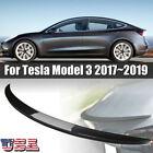 Tail Wing Rear Spoiler Trunk Wings Carbon Fiber For Tesla Model 3 2017-2019 N3N0