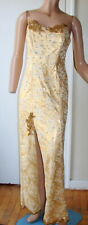 New listing Vintage 1980s Long Dress - Sexy w Lots of Bling