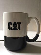 Catapillar Machinery Advertising Mug Black White Large