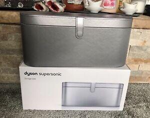 DYSON Supersonic™ Hair Dryer Box Travel Storage Presentation Case Platinum