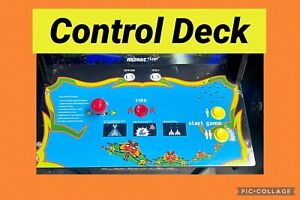 Arcade1up Galaga Galaxian Control Deck Complete and Tested