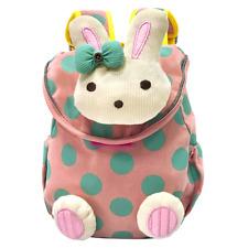 Vox 3D Cute Rabbit Animal Anti-lost Baby Backpack Toddler Kids Girl School Bag w