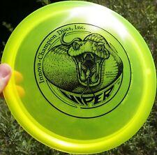 Old School Stamp Innova Champion Viper 180 gm Disc Golf