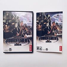 Unreal Tournament 2004 Special Edition PC Game DVDs + Manual