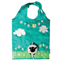 Sass & Belle Eco Friendly Foldable Sheep Drawstring Shopping Bag  L 37 x W 38 cm
