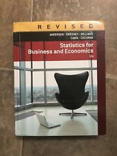Statistics for Business and Economics 12th Edition (Anderson, Sweeney, Williams)