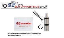 Brembo Reparatursatz PS15 10377310 Fußbremszylinder mit Druckbetätigt