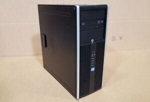 HP Compaq Elite 8300 MT i7-3770 3.40GHz 16GB RAM 128GB SSD+ 1TB HDD Win10 WIFI
