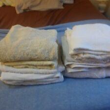 Large bath towels lot