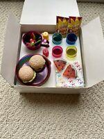 Pleasant Company Birthday Cookout Set W/ Original Box RARE Vintage American Girl