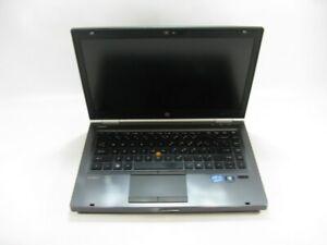 "HP EliteBook 8460w 14"" Laptop 2.2 GHz i7-2670QM 4GB RAM (Grade C No Battery)"
