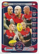 2014 Teamcoach ADVERTISER Quiz (11) Nathan JONES (How many current Melb...)