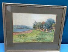 "Vintage A Barlon, ""Untitled"", original watercolour, signed LRHS"