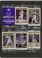 1991 O-Pee-Chee Gary Carter All-Star Game Promotional Cello Pack~opc SP