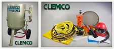 CLEMCO 00916 SANDBLASTING MACHINE, CLEMCO 6 CU. FT. MODEL 2452 (1 DAY SALE)