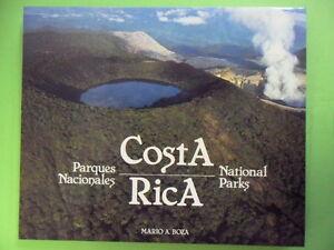 MARIO A.BOZA.COSTA RICA.PARCHI NAZIONALI.EDIZ SPAGNOLA E INGLESE.ANIMALI NATURA