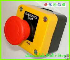 1 Lot 30 units HQ EMERGENCY STOP Pushbutton Control Station IP65 Free Shipping