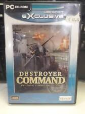 Destroyer Command Wwii Naval Combat Simulator - Pc Game - Usato
