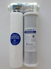 RAINSOFT UF50 UF50T UF50N 50 GPD FILTER PACK WITH POST- WELL WATER NO MEMBRANE