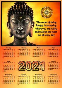 Buddha Calendar - For 2021