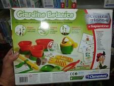 laboratorio giardino botanico clementoni gioco giocattolo toy gioco di qualita