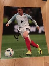 WAYNE ROONEY SIGNED 11x14 PHOTO COA EXACT PROOF AUTOGRAPHED ENGLAND SOCCER