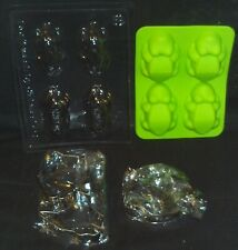 (6) Harry Potter Baking Accessories Chocolate Frog Molds & Cookie Cutters!!!