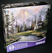 Thomas Kinkade 1000 Piece Jigsaw Puzzle**VALLEY CHAPEL**